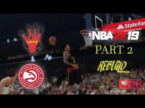 NBA 2K19 HAWKS REBUILD PS4 PRO 4K Part 2 BAZEMORE FOR MVP