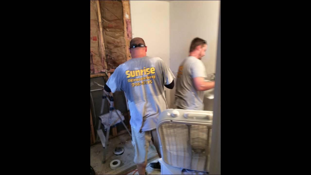 Fort Myers Bathroom Remodel Sunrise Remodeling Youtube