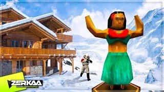 HIDING IN THE SNOW! (Garry's Mod Prop Hunt)
