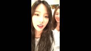 [ENG SUB] Tiffany IG Livestream - Casio photoshoot (170207) - Stafaband