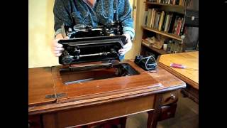 How To Install A Sewing Machine Into A Cabinet