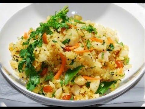 Recipe - Raw Biryani (Flattened Rice Snack) Recipe With English Subtitles