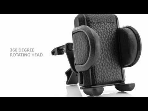 Bracketron's Grip-iT Car Vent Mount -- Features & Insta ...