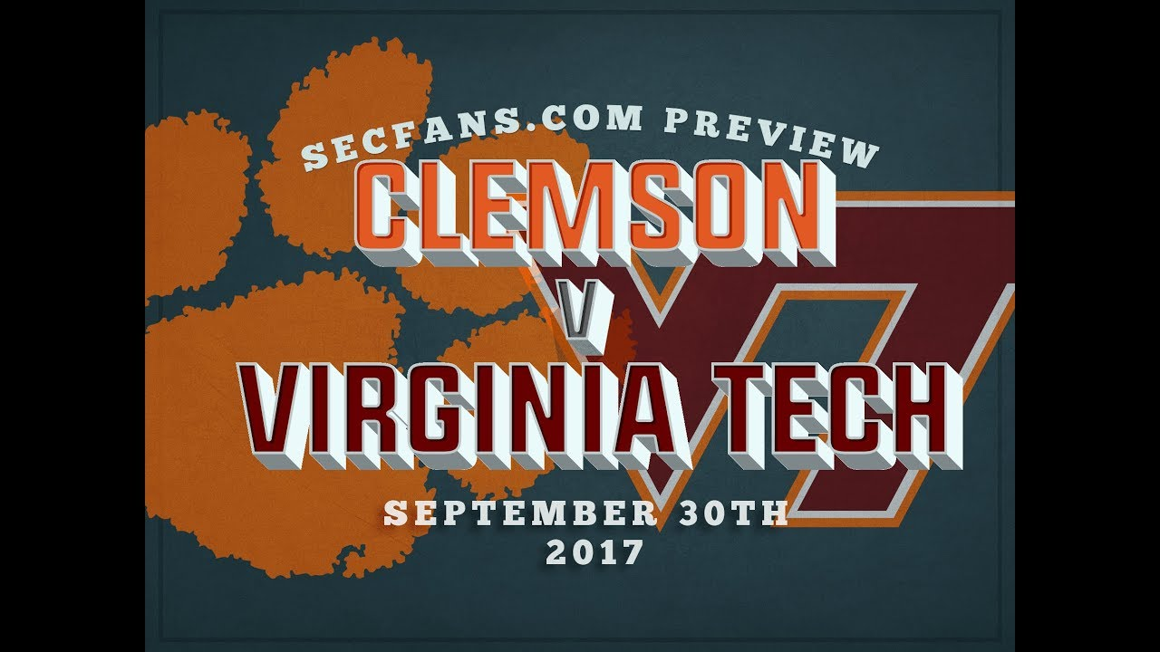 Clemson Vs Virginia Tech Preview Predictions 2017 College Football Va Tech