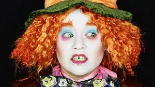 THE MAD HATTER (ALICE IN WONDERLAND) Makeup Tutorial!