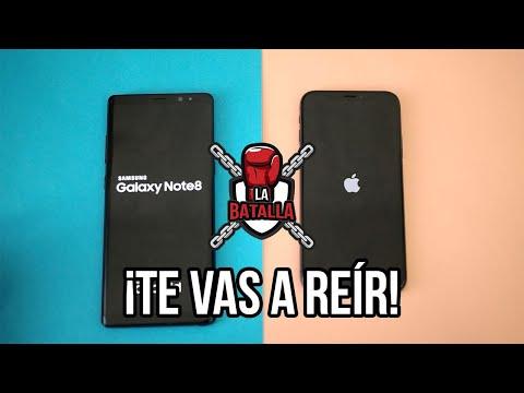 iPhone X vs Samsung Galaxy Note 8 | La Batalla