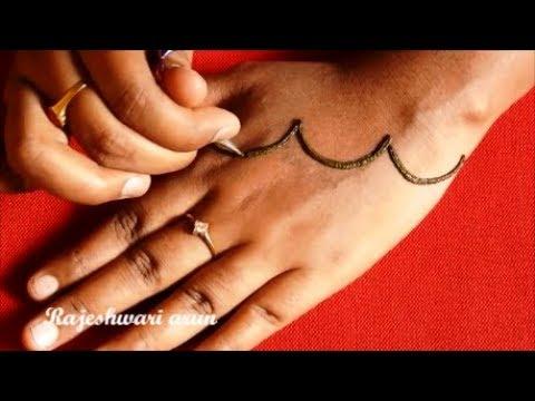 Simple Arabic Mehndi Art Deigns For Hands 2018 * New Latest Mehndi Design * Beautiful Henna on Hands