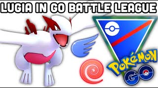 Shiny Lugia in GO Battle League +Aeroblast talk in Pokemon GO