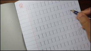 Hướng dẫn viết nét thẳng cho bé chuẩn bị vào lớp 1