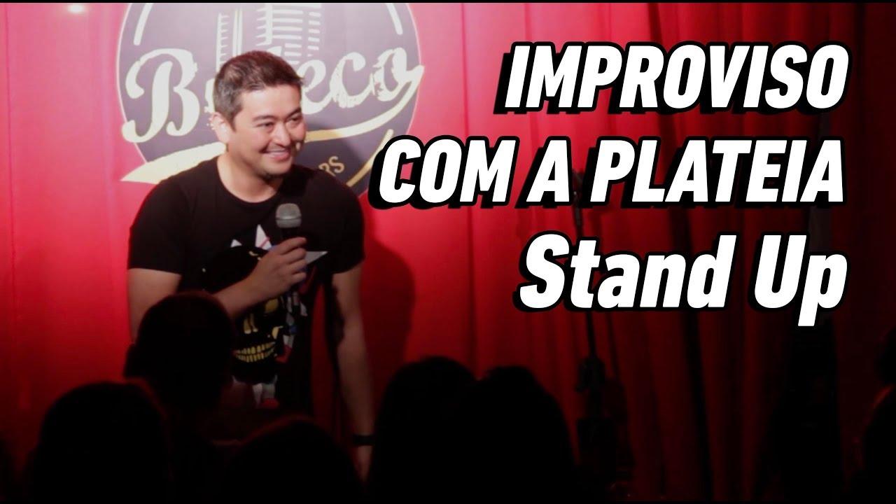 CONVERSANDO COM A PLATEIA: CONTADOR e o CARCEREIRO - Stand Up Comedy - André Santi