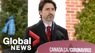 Coronavirus outbreak: Trudeau announces rent relief of 75% for small businesses