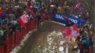 Cyclo-Cross World Championships Men's Elite Race - Mourey the early leader as the snow returns