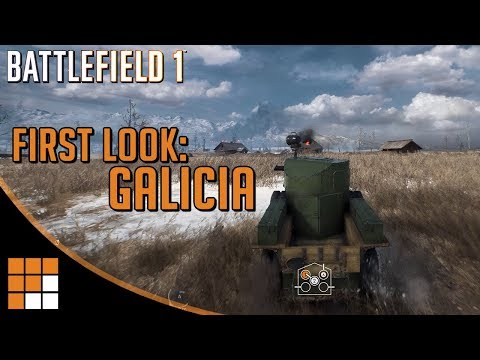 10 Minutes of Gameplay on Galicia! New Battlefield 1 Russian Map (In The Name of the Tsar DLC)