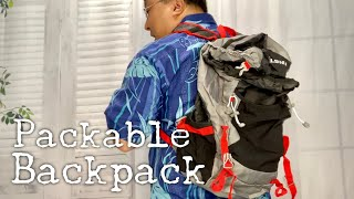 Foldable Packable Travel Daypack Backpack for Camping and Hiking by Delswin Review