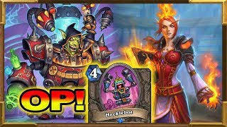 Hearthstone: Hecklebot Super Control Warrior - This Is The Solution To Get Legend! Rise of Shadows