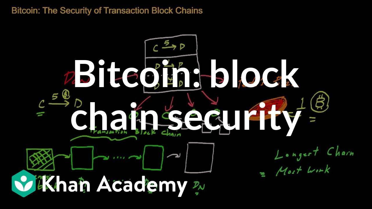 Bitcoin La Seguridad De Las Cadenas De Bloques De