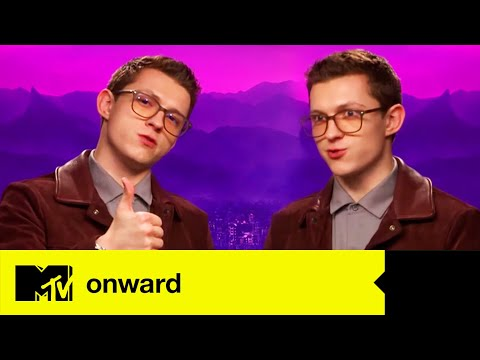 Onward Star Tom Holland Plays 'MTV Three Way' | MTV Movies