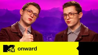 Onward Star Tom Holland Plays 'MTV Three Way' | MTV Movies