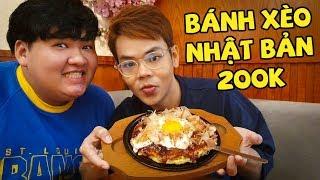 Bánh xèo Nhật Bản khác gì với bánh xèo Việt Nam? (Oops Banana)