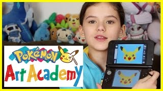 Pokémon Art Academy by Nintendo |  KITTIESMAMA