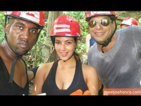 Kim Kardashian Goes on Adventure-Filled Vacation with Kanye West and Joe Francis