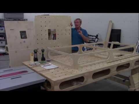 Assembling the Paulk Workbench by FastCap