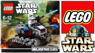 LEGO Star Wars: Набор 75028 Турботанк клонов [microfighters]