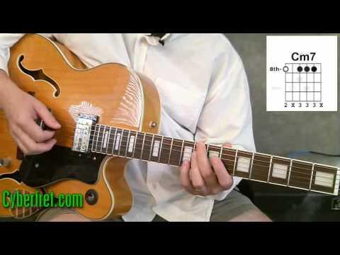 Jazz Guitar Chords in II V Chord Progression - Part 1