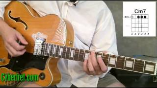 Jazz Guitar Chords in II V Chord Progression - Part 1