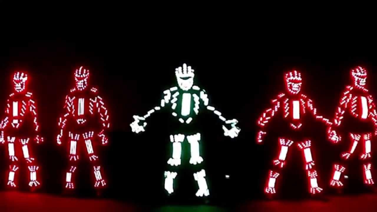 Led Robot Dance Youtube