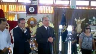 CARLOS ROCA HABLA ANTE FÉRETRO DE GUILLERMO BACA AGUINAGA