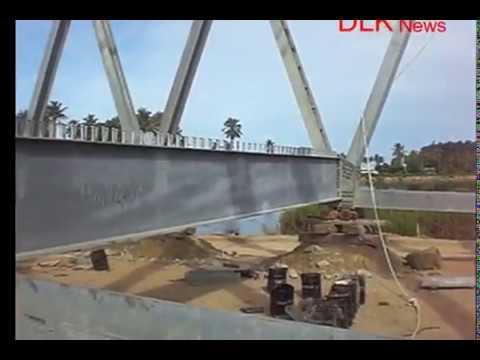 Cara memasang rangka baja jembatan Eps 1  YouTube