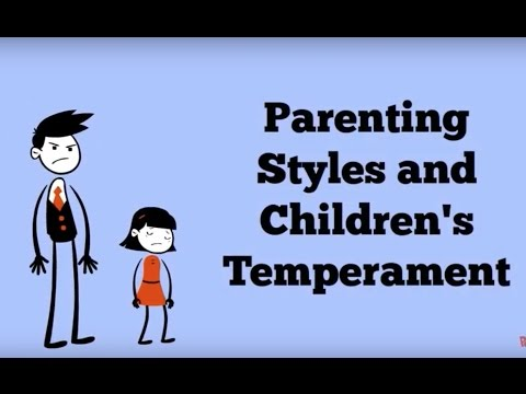 Parenting Styles and Children's Temperament