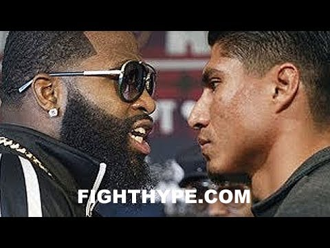 "ADRIEN BRONER AND MIKEY GARCIA DEBATE WHO IS BETTER BOXER; BRONER INSISTS ""AIN'T NO WAY IN HELL"""