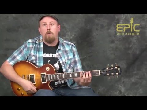 Learn easy song New Age Girl Deadeye Dick guitar lesson with chords rhythms strums riffs