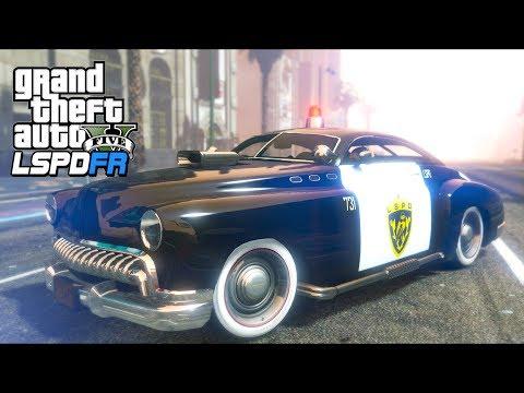 GTA 5 - LSPDFR Ep498 - Albany Hermes Police Car Patrol!!
