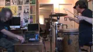 The McGee Brothers 031314 synth and percussion improvisation jam