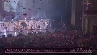 2015年7月7日リリース 5th LIVE VIDEO『さくら学院 The Road to Graduat...