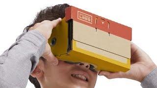 Let's watch Nintendo's Virtual Reality Labo reveal trailer