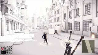 [NieR Automata] Locked Chest - Powerup Part M (Copied City)