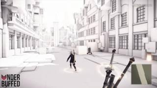 [NieR Automata] Locked Chest - Powerup Part M (Copied City)