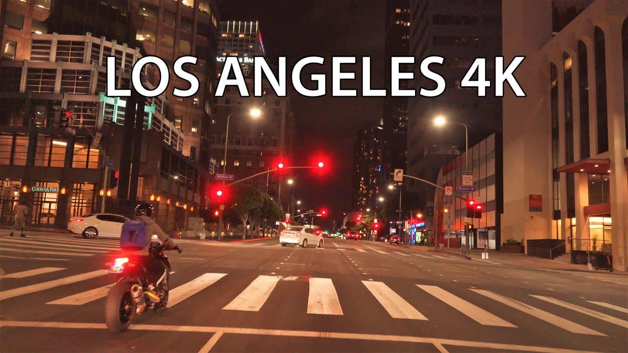 Los Angeles 4K - Night Drive