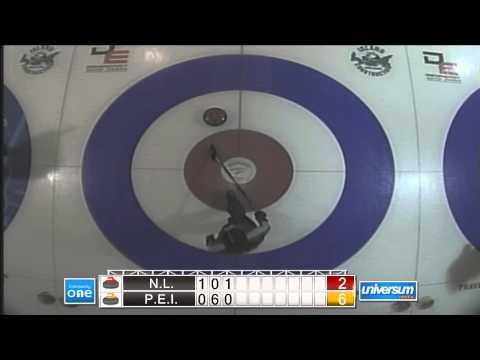 Atlantic U18 Curling   Sheet 3 Sun PE vs NL Women