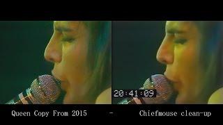Queen - Live in Hyde Park 1976/09/18 [VIDEO COMPARISON]