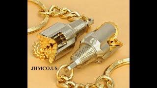 Drill Bit Keychain Oilfield Tricone Rock Bit JHM#19 Gifts