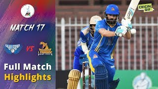 APLT20 2018 M17: Nangarhar Leopards v Balkh Legends Full Highlights - Afghanistan Premier League T20