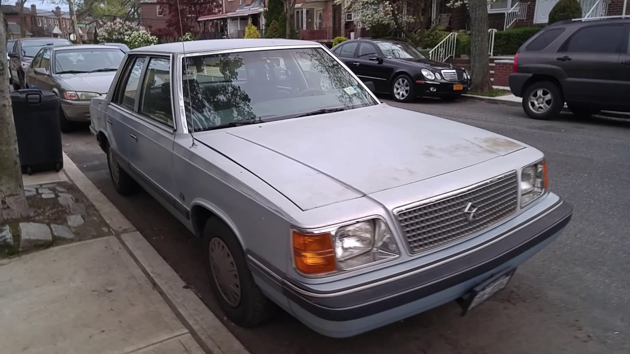 1989 Plymouth Reliant K Youtube
