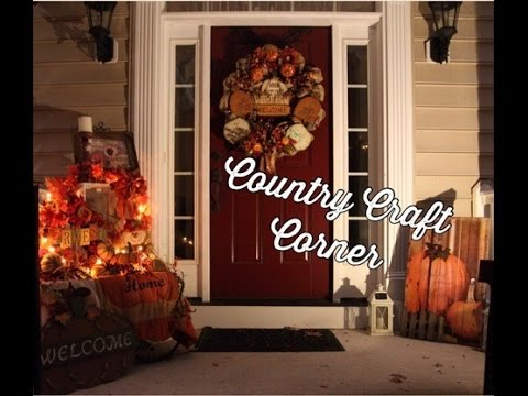 Home Tour Hy Fall Y All 4 Of Outdoor Decorations