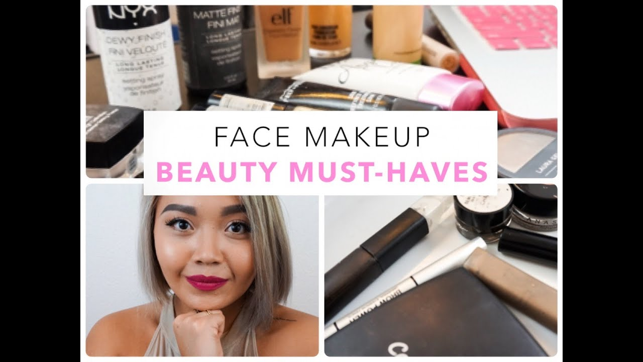 BEAUTY MUST-HAVES: Face Makeup for Oily Skin - maricarljanah - YouTube