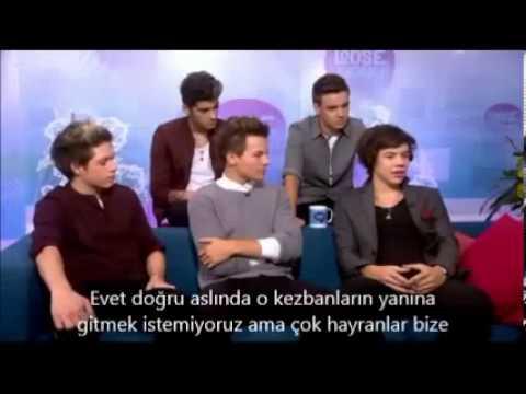 One Direction Türkiyeye Geliyor Türkçe Altyazılı 2013
